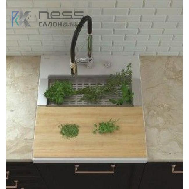 Мойка кухонная Marmorin NERO, 714103