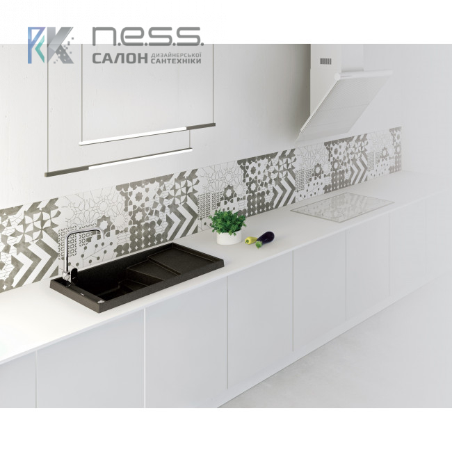 Мойка кухонная Marmorin BATEA, 716113 скидка на цвет Sand